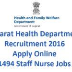 Staff Nurse Recruitment Class-3 Post (OJAS)